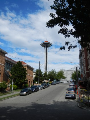 Space Needle from far away