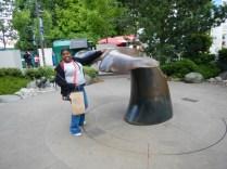 Bronze Statue - Whale