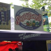 Dindgleberries, a poor name choice at the taste of Seattle.