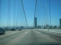 Crossing into San Francisco