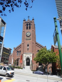 Church in Downtown San Francisco