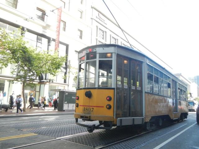 Trolley in San Francisco