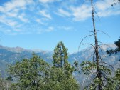 Kings Canyon National Park from the top