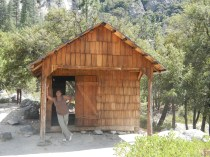 Kings Canyon National Park - Settlers Cabin circa 1920