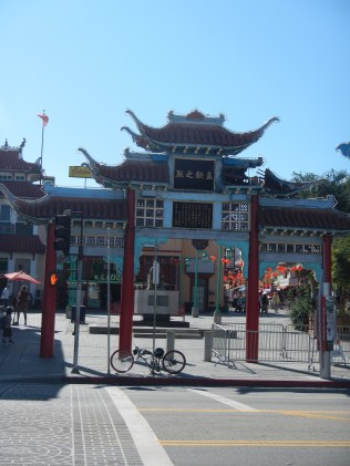 Archway in Chinatown LA