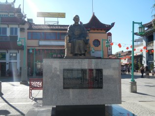 Cool Statue in Chinatown LA