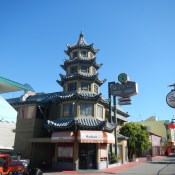 Pagoda in Chinatown - What to do in LA