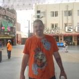 Kenin on Fremont St - What Happens in Las Vegas