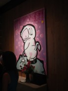 Artwork in the Cosmopolitan Las Vegas NV