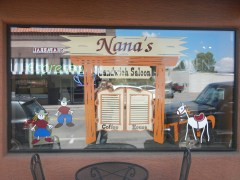 Nana's Sandwich Saloon - Road Trip From Las Vegas to El Paso