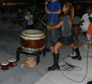 hollywood full moon drum circle