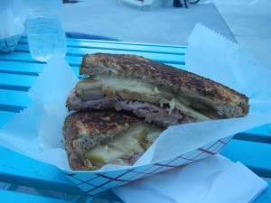 Sandwich from Ms. Cheezious Food Truck