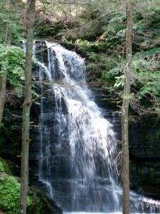 Bridal Veil Falls, Bushkill Falls