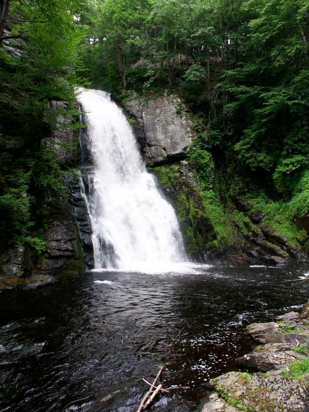 Bushkill Falls Niagara of Pennsylvania Poconos
