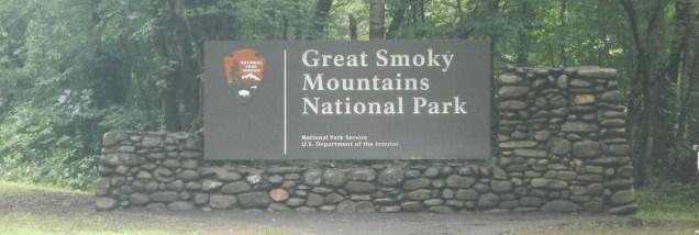 Smoky Mountain sign