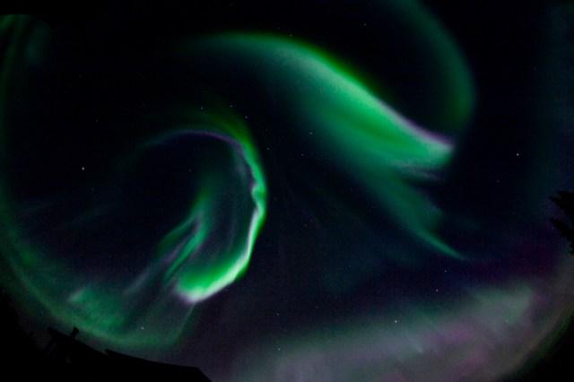 Aurora Dancing in the Night