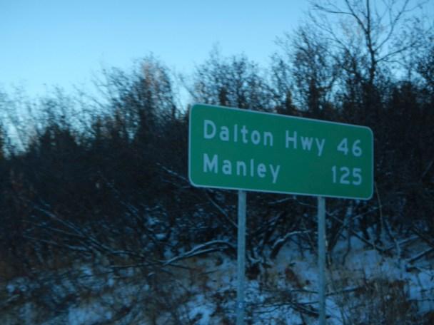 Heading towards Alaska's Dalton Highway via Elliot Highway