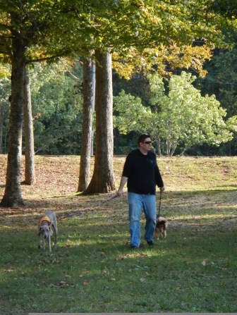 Kenin and the doggies