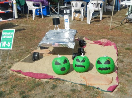 Space Pumpkins?? at Scarecrow Fest St. Charles IL 2012