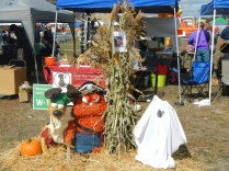 Garfield and Odie at Scarecrow Fest St. Charles IL 2012