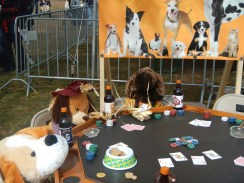 Scarecrow Dogs Playing Poker 2 at Scarecrow Fest St. Charles IL 2012