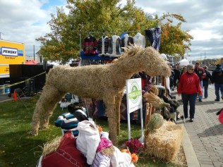 Horse Scarecrow at Scarecrow Fest St. Charles IL 2012