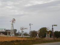Windmill tribute in Nebraska