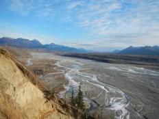River along Glenn Highway near Palmer Alaska