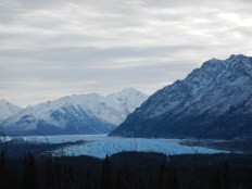 Matanuska Glacier near Palmer Alaska