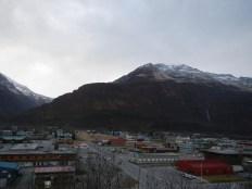 Valdez Alaska from Above