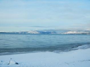 Lake Kluane Yukon