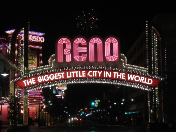 Welcome to Reno Nevada