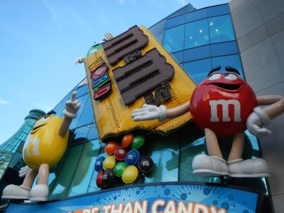 M&M World on the Las Vegas Strip