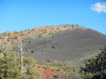 Sunset Crater Volcano in Sunset Crater National Monument Near Flagstaff Arizona