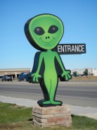 Alien Signs in Roswell New Mexico