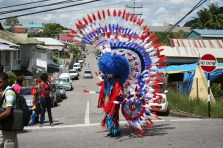 Buffalo Bustle Dancer - Carnival in Trinidad