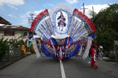 Jaggesar Queen Costume 2012 - Carnival in Trinidad