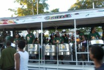 A Steel Pan Truck - Carnival in Trinidad