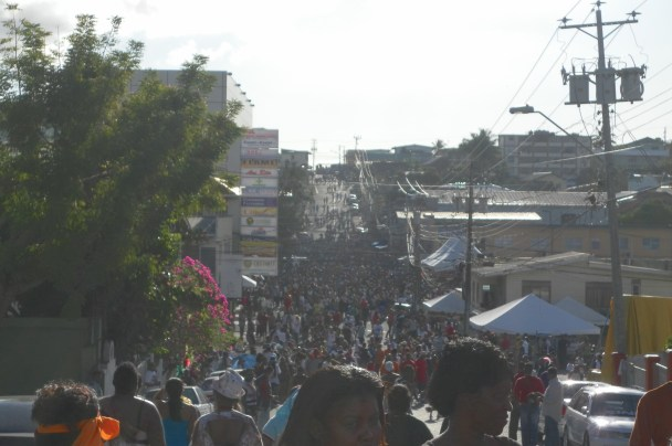 Giant J'Ouvert Street party - Carnival in Trinidad