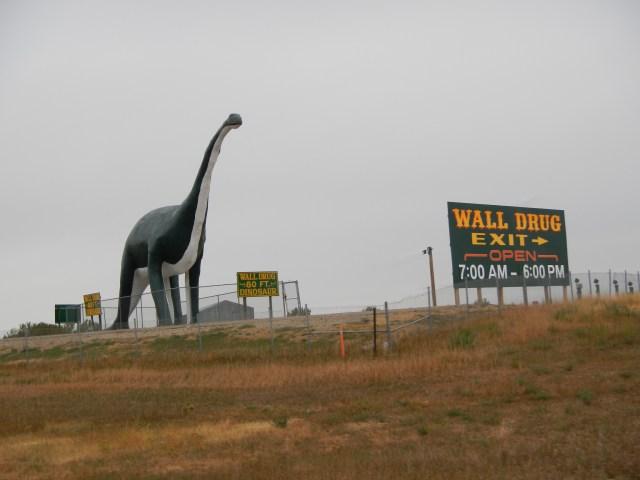 Huge Dinosaur Attraction