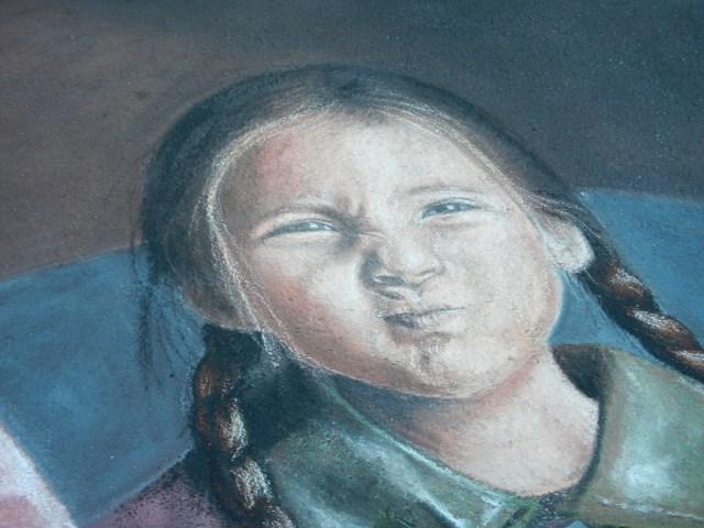 Detail Girls Face