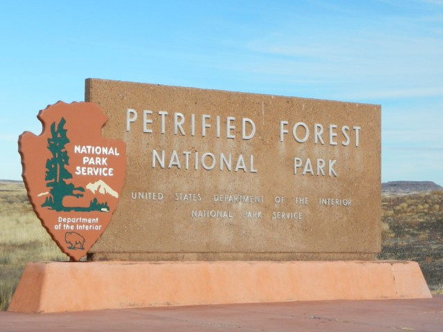 Southern Entrance to the Petrified Forest