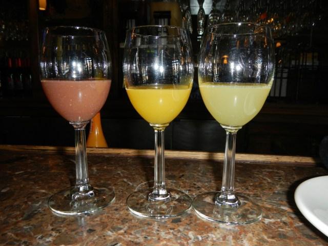 St. Clair's pre-mimosas