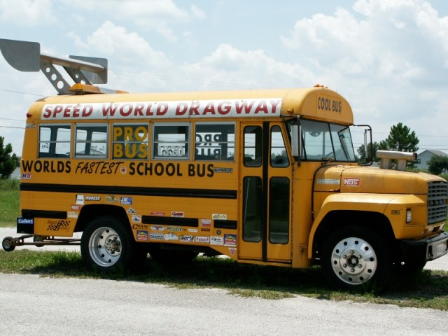 Worlds Fastest School Bus