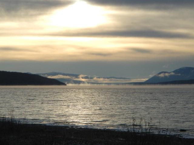 Yukon Territory Teslin Lake