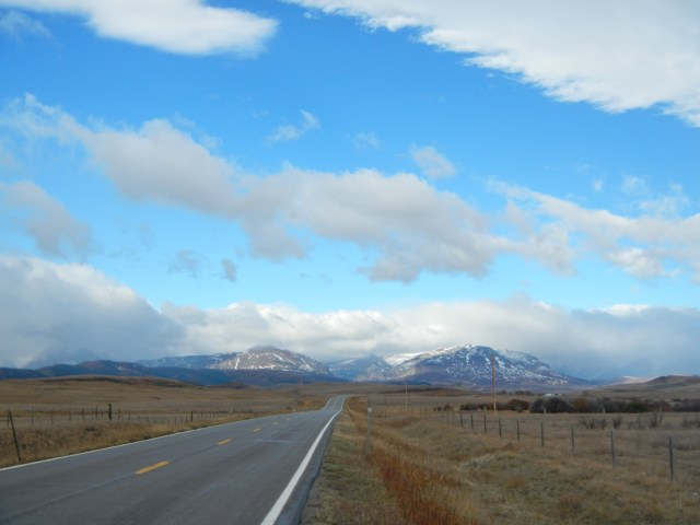 The view from highway 89