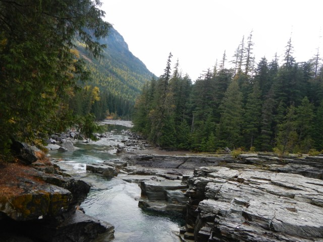 Glacier National Park West SideMcDonald Creek