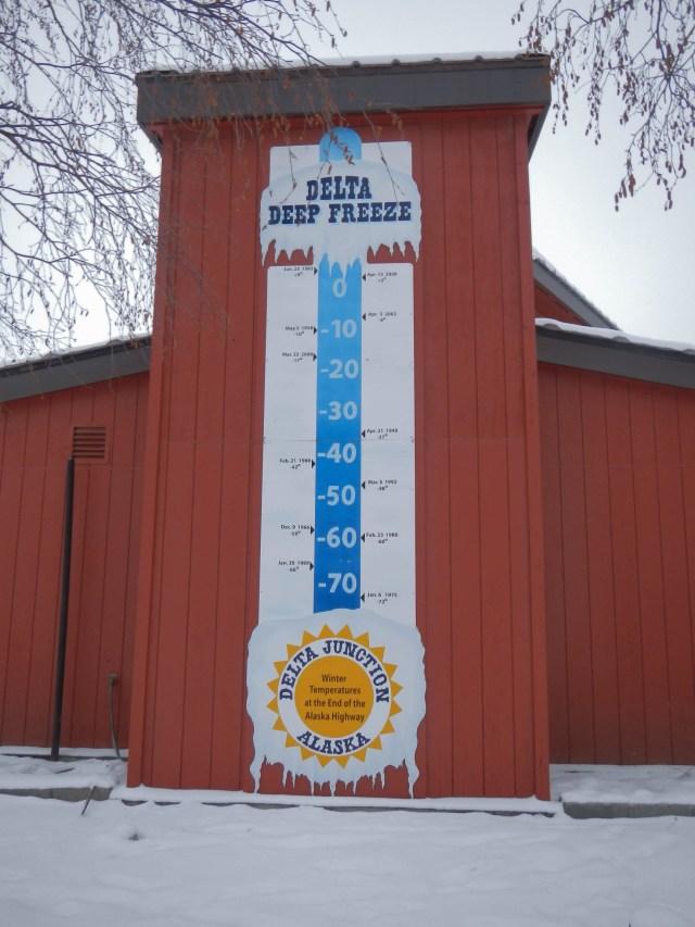 Delta Deep Freeze Sign