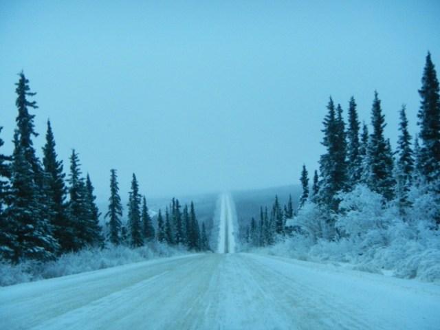 Horizon from the Beautiful Dalton Highway