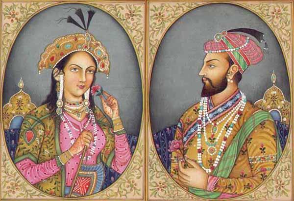 Mumtaz Mahal & Shah Jahan